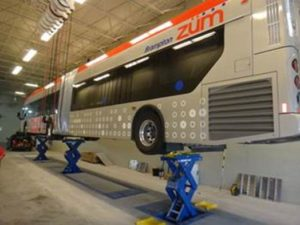 ISN project to dollar project to lift buses in Canada
